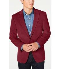 tommy hilfiger men's modern-fit corduroy sport coat