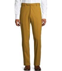 zanella men's devon high twist pants - gold - size 42