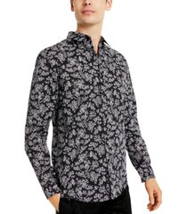 inc men's declan floral shirt, created for macy's