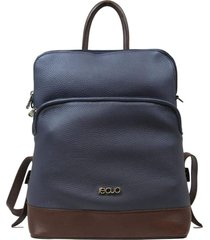 mochila de couro recuo fashion bag cereja