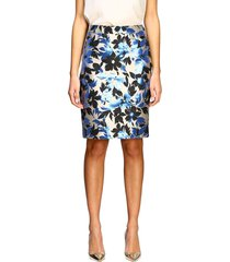 boutique moschino suit boutique moschino skirt in floral pattern brocade