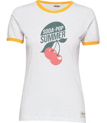 songve tee t-shirts & tops short-sleeved vit kari traa