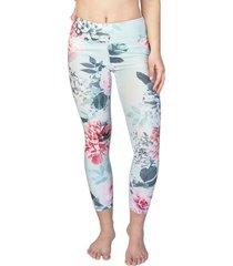 calza legging flores turquesa h2o wear