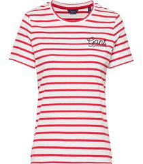 d1. breton stripe ss t-shirt t-shirts & tops short-sleeved rood gant