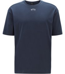 boss men's talboa 1 retro-style cotton t-shirt