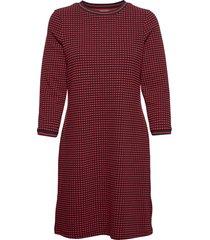 dresses knitted kort klänning röd edc by esprit