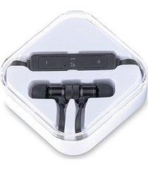 auriculares audifonos bluetooth magnet imantados - negro