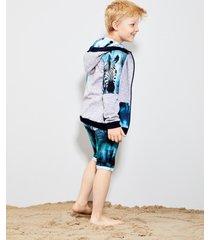bluza zebra zipper
