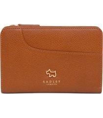 radley london pockets medium zip around leather wallet