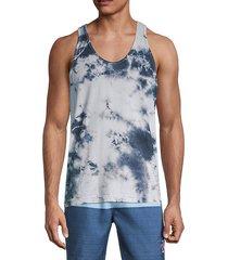 tie-dye sleeveless t-shirt