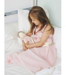 bawełniana koszulka nocna z koronką, piżama.
