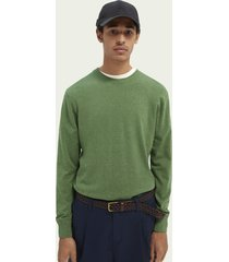 scotch & soda ecovero™ sweater met ronde hals