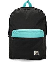 maletas y morrales lifestyle fila 81-34333 black-green