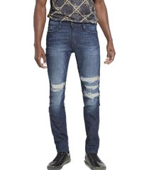 jeans skinny 5pkt w repair kgtd denim guess