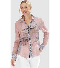 blouse se stenau roze::grijs