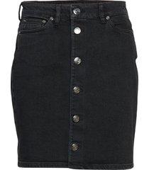 pamela button skirt 11005 kort kjol svart samsøe samsøe