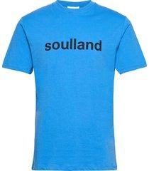 chuck t-shirt t-shirts short-sleeved blå soulland