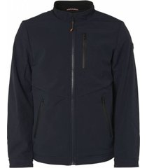 donkerblauwe heren jas no excess - 92630815 078
