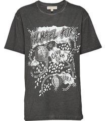 rock stargrhpc bf tee t-shirts & tops short-sleeved grijs michael kors