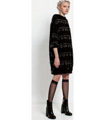 sukienka bluza w kółeczka