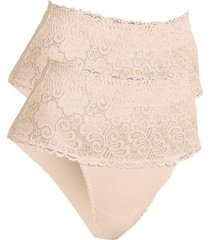 slip modellante (pacco da 2) livello 1 (beige) - bpc bonprix collection - nice size