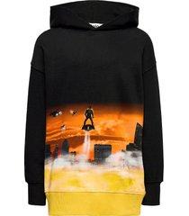 mozzy hoodie trui zwart molo