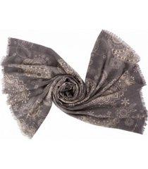 glitzhome paisley print scarf