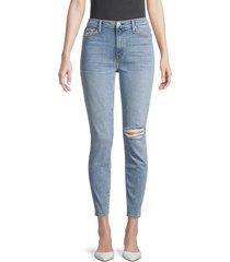 hudson women's ombre high-rise skinny jeans - presto - size 32 (10-12)