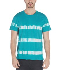 sovereign code men's palmette tie-dyed stripe t-shirt