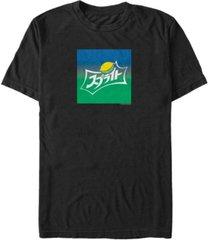 coca-cola men's kanji sprite logo short sleeve t-shirt