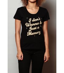 camiseta just a memory