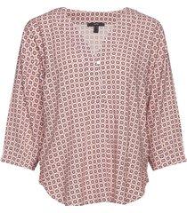 blouses woven blus långärmad vit esprit collection