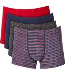 alfani men's 4-pack boxer briefs, created for macy's
