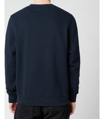 belstaff men's 1924 sweatshirt - dark ink/off white - xxl
