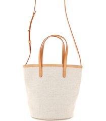 mansur gavriel mini circle bucket bag