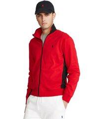 polo ralph lauren men's soft cotton track jacket