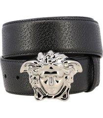 versace belt versace leather belt with jellyfish head