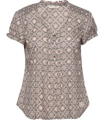 perfect print blouse blouses short-sleeved grijs odd molly