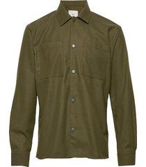 fjell overhemd casual groen minimum