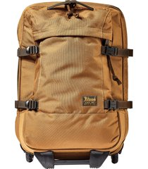 filson dryden 22-inch wheeled carry-on - brown