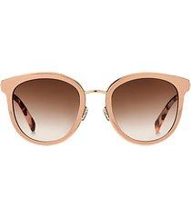 adayna 52mm round sunglasses