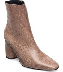 lucky shoes boots ankle boots ankle boot - heel beige jennie-ellen