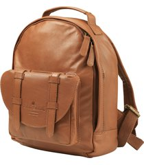 ryggsäck mini chestnut leather