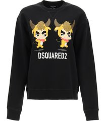 dsquared2 year of the ox sweatshirt