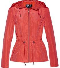 giacca a vento con pieghe (rosso) - bpc selection