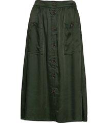 annalee knälång kjol grön mbym
