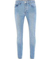 mens powder blue stretch skinny jeans