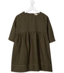 caramel wimbledon dress - green