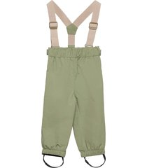 wilans suspenders pants, bm outerwear shell clothing shell pants grön mini a ture