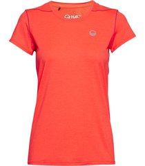 marjo w t-shirt t-shirts & tops short-sleeved orange halti